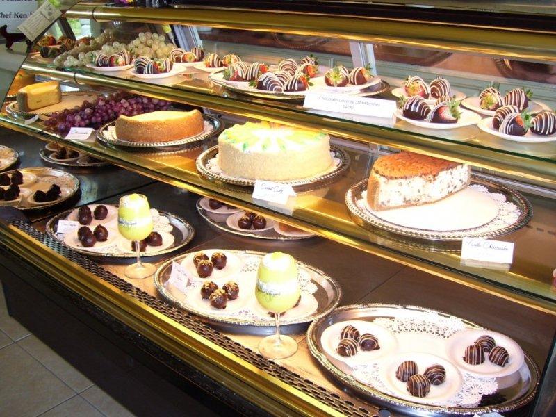 pastry-case